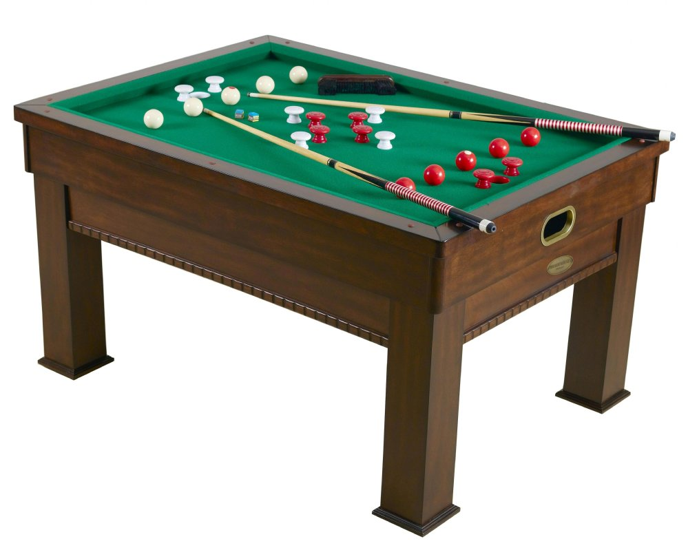 Pool Card Dining Table In Walnut Combination Tables Berner