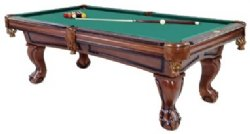 Furniture Pool Table With Ball Amp Claw Leg In Antique
