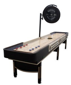 Quot The Pro Quot Shuffleboard Table With Electronic Scoring In